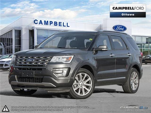 2017 Ford Explorer Limited AWD-LOADED-EARLY BIRD (Stk: 937220) in Ottawa - Image 1 of 29