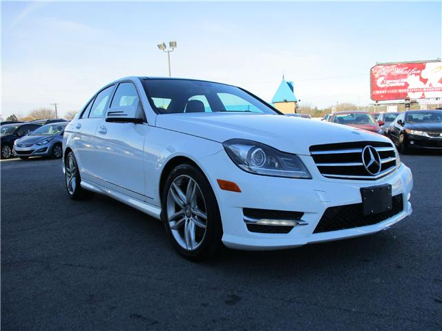 2014 Mercedes-Benz C-Class Base (Stk: 171865) in Kingston - Image 1 of 12