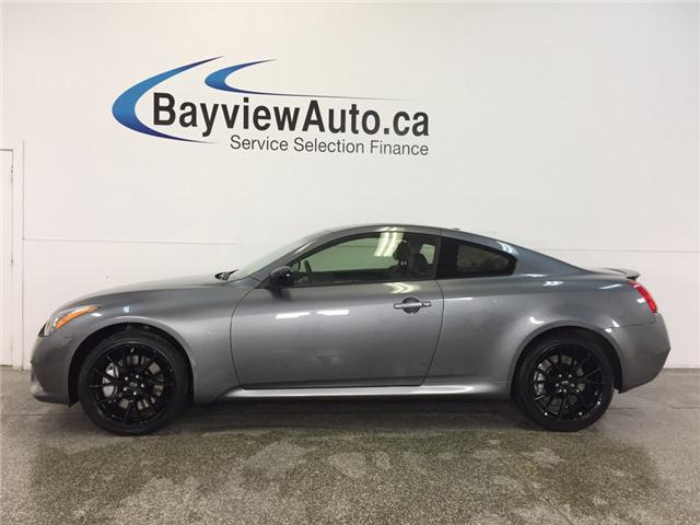 2015 Infiniti Q60 S- AWD|ROOF|HTD LTHR|NAV|BOSE|BSA|ADAPTIVE CRUISE! (Stk: 31726) in Belleville - Image 1 of 30