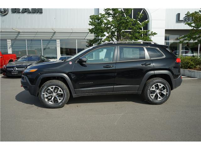 2017 Jeep Cherokee Trailhawk (Stk: 1719881) in Thunder Bay - Image 2 of 6