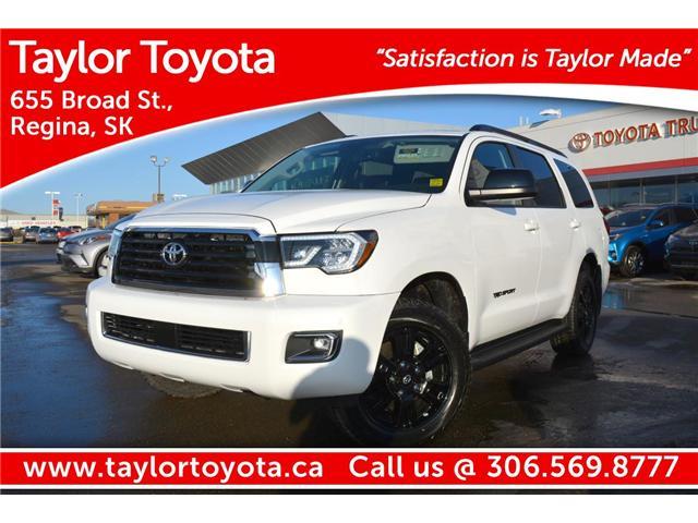 2018 Toyota Sequoia SR5 5.7L V8 (Stk: 183110) in Regina - Image 1 of 46