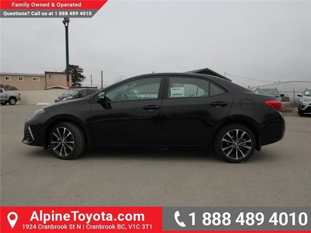 2018 Toyota Corolla SE (Stk: C012681) in Cranbrook - Image 2 of 17
