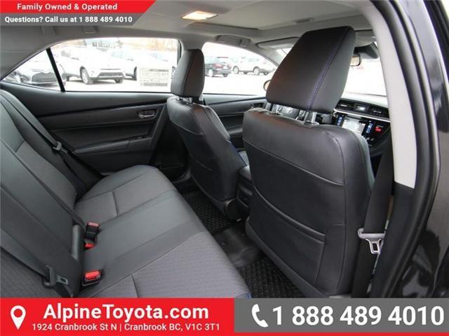 2018 Toyota Corolla SE (Stk: C012681) in Cranbrook - Image 12 of 17