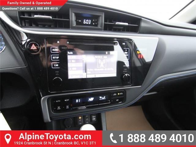 2018 Toyota Corolla SE (Stk: C012681) in Cranbrook - Image 13 of 17