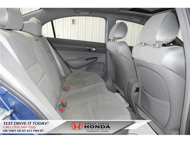 2008 Honda Civic LX (Stk: H5718A) in Sault Ste. Marie - Image 14 of 18