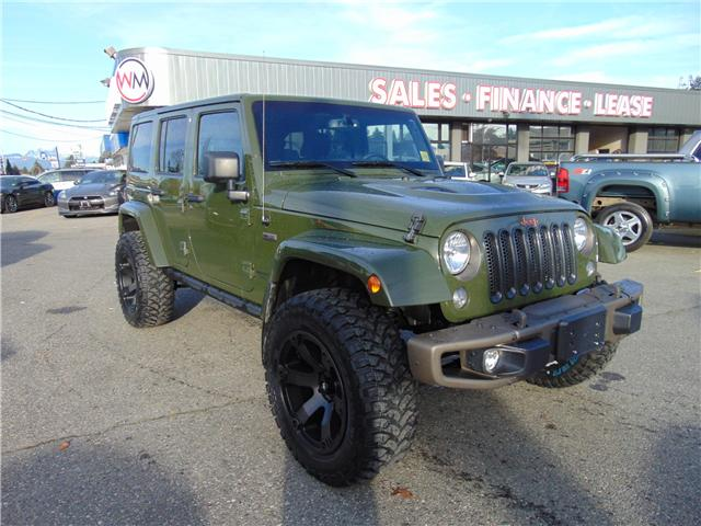 2016 Jeep Wrangler Unlimited Sahara (Stk: 16-297179) in Abbotsford - Image 1 of 17