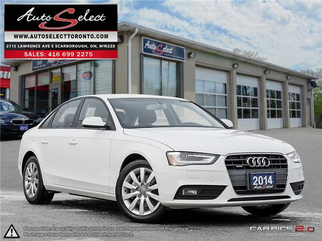 2014 Audi A4 Quattro (Stk: 14A934Q1) in Scarborough - Image 1 of 28