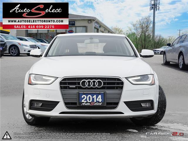 2014 Audi A4 Quattro (Stk: 14A934Q1) in Scarborough - Image 2 of 28