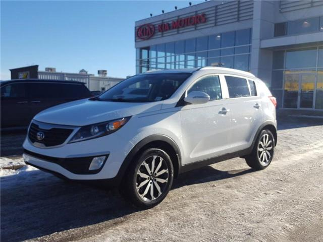 2013 Kia Sportage LX (Stk: 8SP6549A) in Red Deer - Image 1 of 8