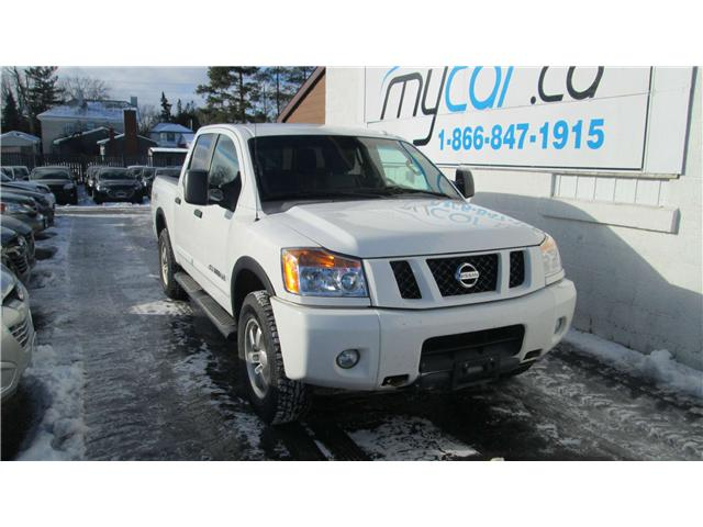 2012 Nissan Titan PRO-4X (Stk: 171848) in Richmond - Image 1 of 12