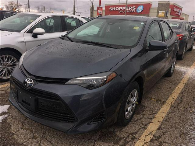 2018 Toyota Corolla CE (Stk: 8CR243) in Georgetown - Image 1 of 5