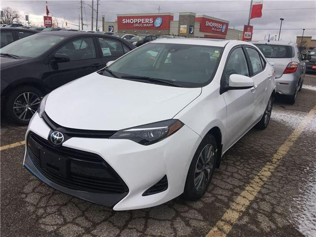 2018 Toyota Corolla LE (Stk: 8CR246) in Georgetown - Image 1 of 5