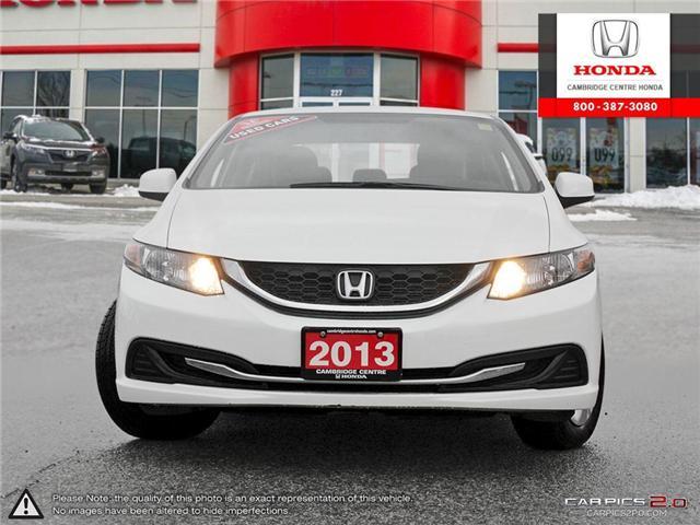 2013 Honda Civic LX (Stk: U4848) in Cambridge - Image 2 of 27