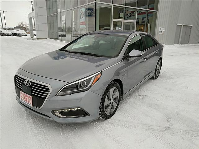 2016 Hyundai Sonata Plug-In Hybrid Ultimate (Stk: 65054) in Goderich - Image 1 of 17