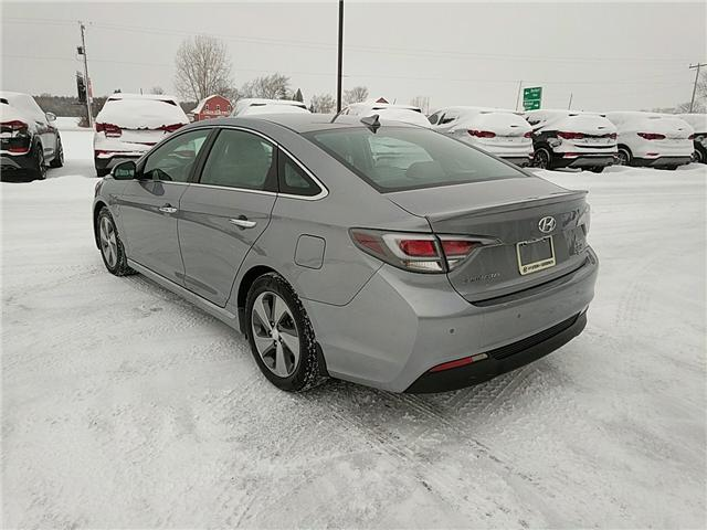 2016 Hyundai Sonata Plug-In Hybrid Ultimate (Stk: 65054) in Goderich - Image 3 of 17