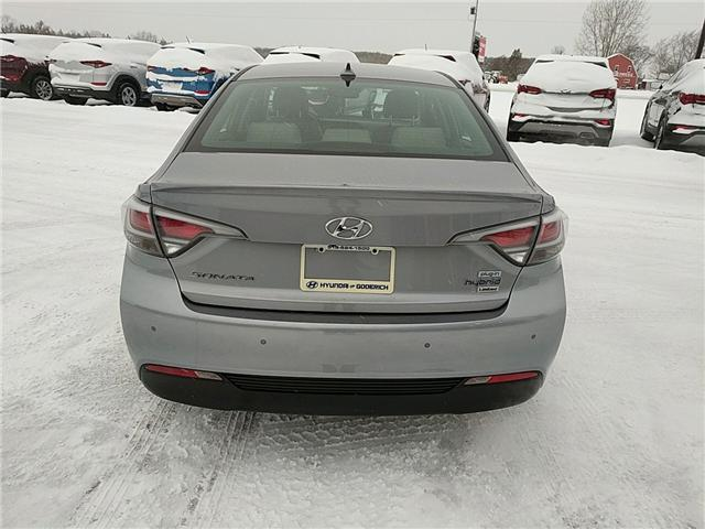 2016 Hyundai Sonata Plug-In Hybrid Ultimate (Stk: 65054) in Goderich - Image 4 of 17