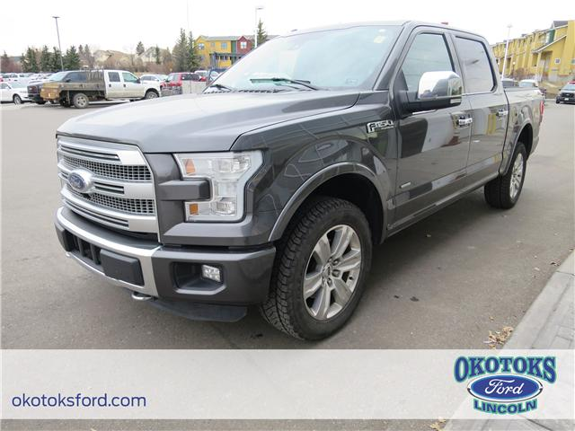 2015 Ford F-150 Platinum (Stk: J-323A) in Okotoks - Image 1 of 26