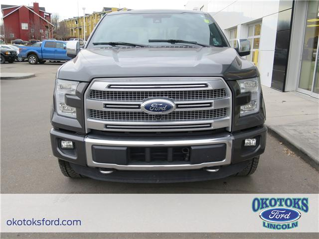 2015 Ford F-150 Platinum (Stk: J-323A) in Okotoks - Image 2 of 26