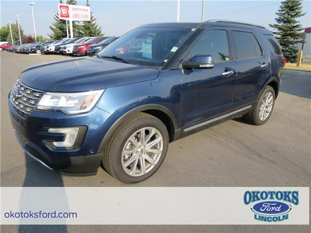 2017 Ford Explorer Limited (Stk: H-2564) in Okotoks - Image 1 of 5