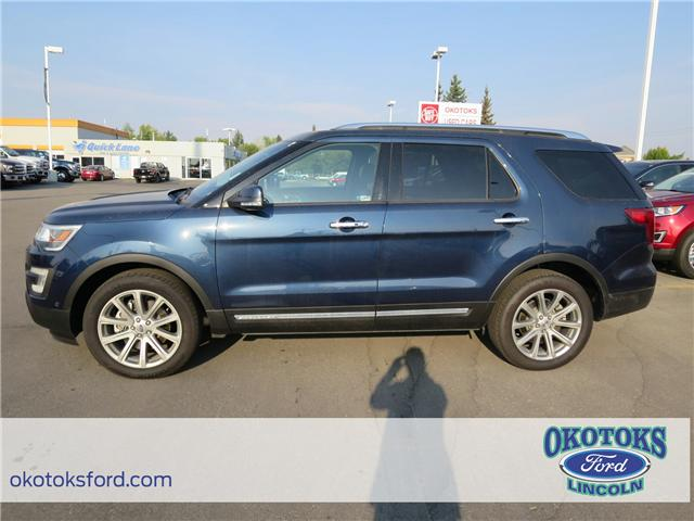 2017 Ford Explorer Limited (Stk: H-2564) in Okotoks - Image 2 of 5