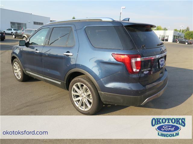 2017 Ford Explorer Limited (Stk: H-2564) in Okotoks - Image 3 of 5