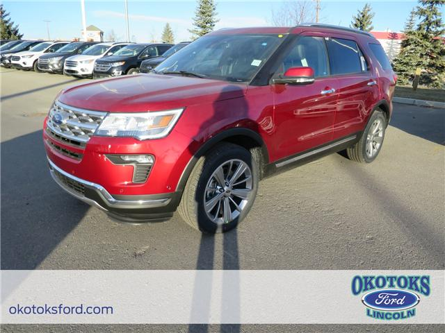 2018 Ford Explorer Limited (Stk: JK-64) in Okotoks - Image 1 of 5