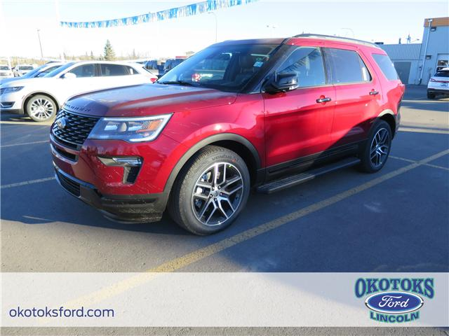 2018 Ford Explorer Sport (Stk: JK-73) in Okotoks - Image 1 of 5