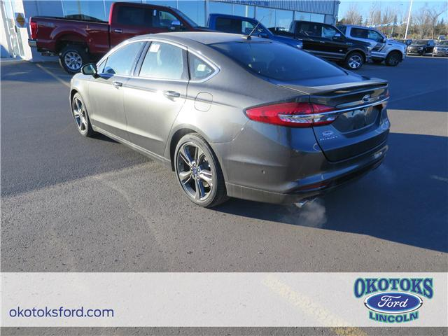 2018 Ford Fusion V6 Sport (Stk: J-02) in Okotoks - Image 3 of 5