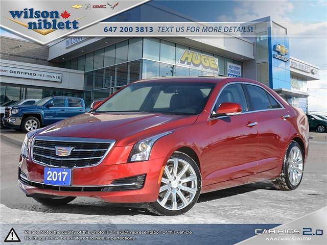 2017 Cadillac ATS 2.0L Turbo Luxury (Stk: U111337) in Richmond Hill - Image 1 of 30