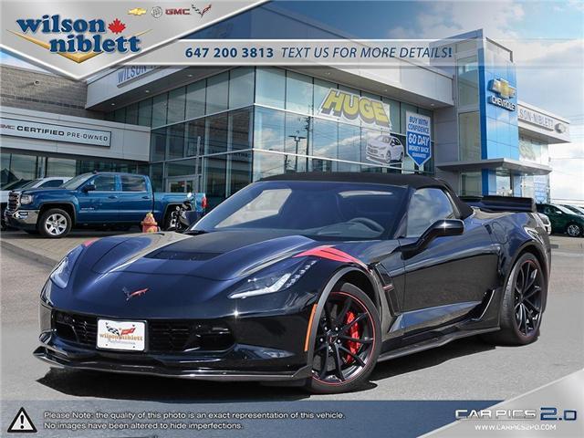 2017 Chevrolet Corvette Grand Sport (Stk: U102911) in Richmond Hill - Image 1 of 30