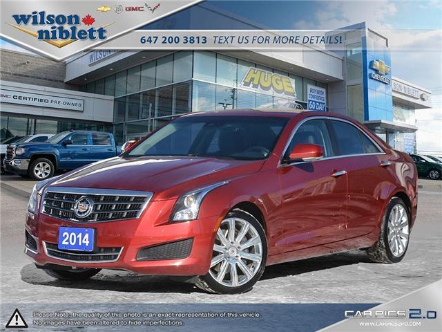 2014 Cadillac ATS 2.0L Turbo Luxury (Stk: U191746) in Richmond Hill - Image 1 of 30