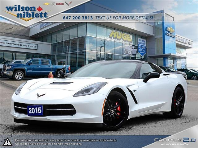 2015 Chevrolet Corvette Stingray (Stk: U115486) in Richmond Hill - Image 1 of 30