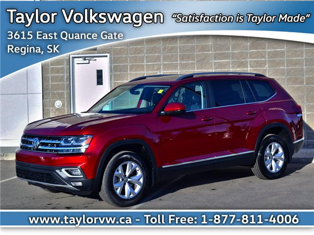 2018 Volkswagen Atlas 3.6 FSI Highline (Stk: 180258) in Regina - Image 1 of 35