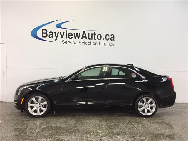 2016 Cadillac ATS LUXURY- AWD|TURBO|HTD LTHR|REV CAM|BOSE|BLUETOOTH! (Stk: 31773) in Belleville - Image 1 of 26