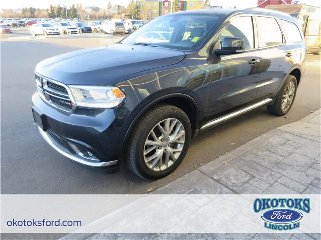 2016 Dodge Durango Limited (Stk: B82958) in Okotoks - Image 1 of 22