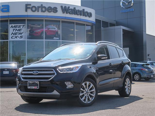2017 Ford Escape Titanium (Stk: X2156) in Waterloo - Image 1 of 27