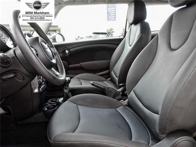 2013 Mini Hatch Cooper (Stk: O10252) in Markham - Image 8 of 14