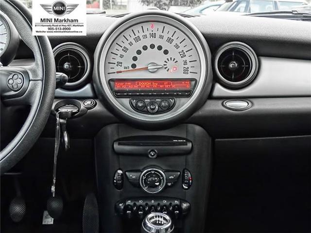 2013 Mini Hatch Cooper (Stk: O10252) in Markham - Image 12 of 14