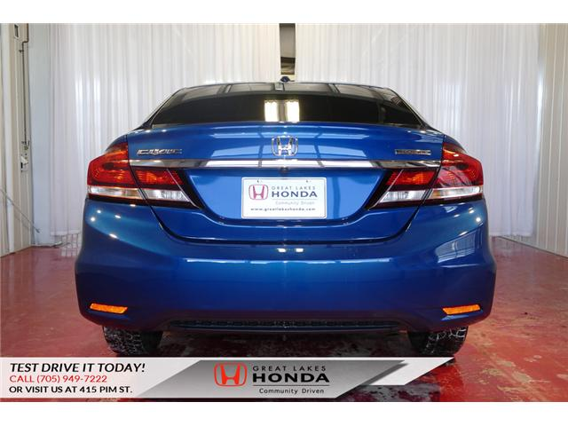 2015 Honda Civic Touring (Stk: HP460) in Sault Ste. Marie - Image 5 of 20