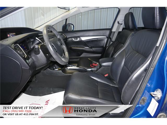 2015 Honda Civic Touring (Stk: HP460) in Sault Ste. Marie - Image 9 of 20