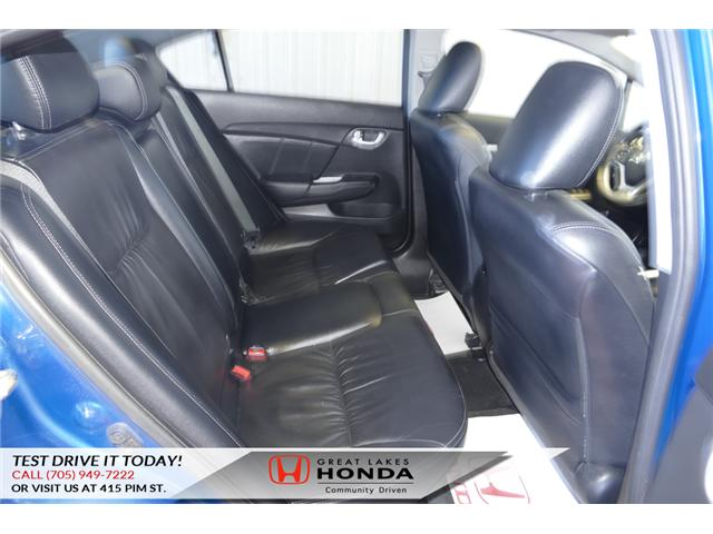 2015 Honda Civic Touring (Stk: HP460) in Sault Ste. Marie - Image 13 of 20