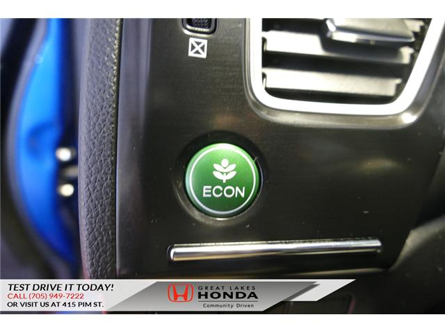 2015 Honda Civic Touring (Stk: HP460) in Sault Ste. Marie - Image 16 of 20