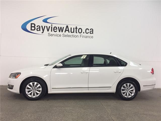 2012 Volkswagen Passat TRENDLINE- TDI|ALLOYS|CRUISE|HTD STS|EMISSION FIX! (Stk: 31969J) in Belleville - Image 1 of 23