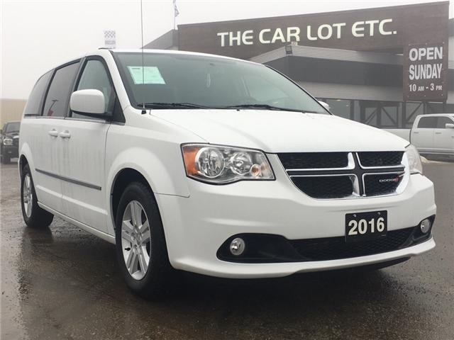 2016 Dodge Grand Caravan Crew Plus (Stk: 17662) in Sudbury - Image 1 of 13