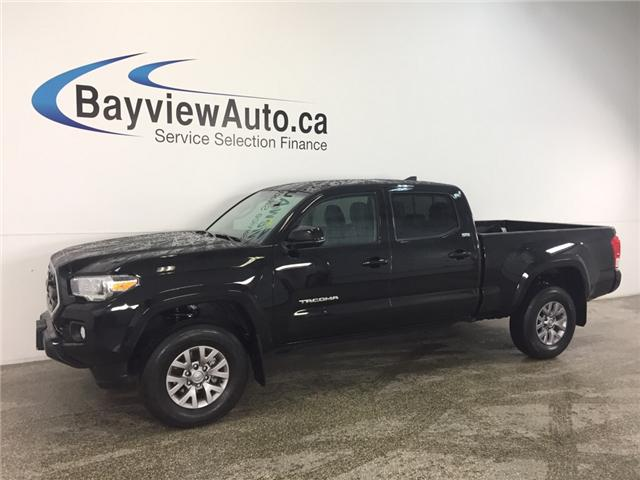 2017 Toyota Tacoma SR5- CREW|ALLOYS|HTD STS|REV CAM|BLUETOOTH|CRUISE! (Stk: 31792J) in Belleville - Image 1 of 26