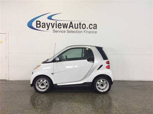 2013 Smart Fortwo - KEYLESS ENTRY|A/C|BLUETOOTH|LOW KM'S! (Stk: 31863J) in Belleville - Image 1 of 21