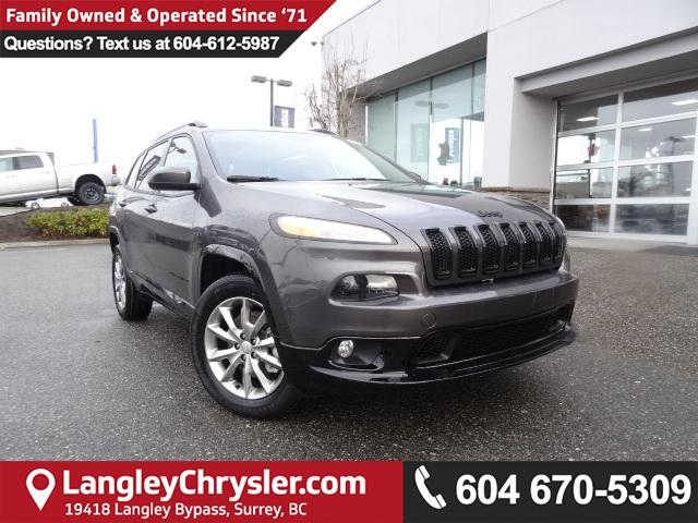 2018 Jeep Cherokee North (Stk: J589199) in Surrey - Image 1 of 13