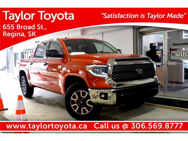 2018 Toyota Tundra SR5 Plus 5.7L V8 (Stk: 183092) in Regina - Image 1 of 26