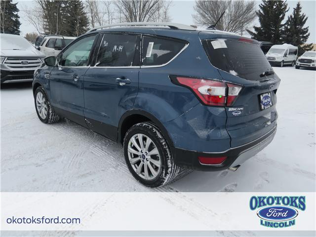 2018 Ford Escape Titanium (Stk: J-381) in Okotoks - Image 3 of 5