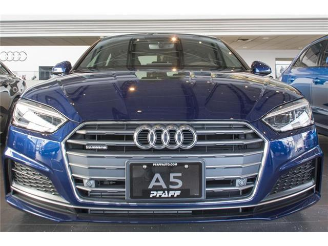 2018 Audi A5 2.0T Progressiv (Stk: T13483) in Vaughan - Image 2 of 6